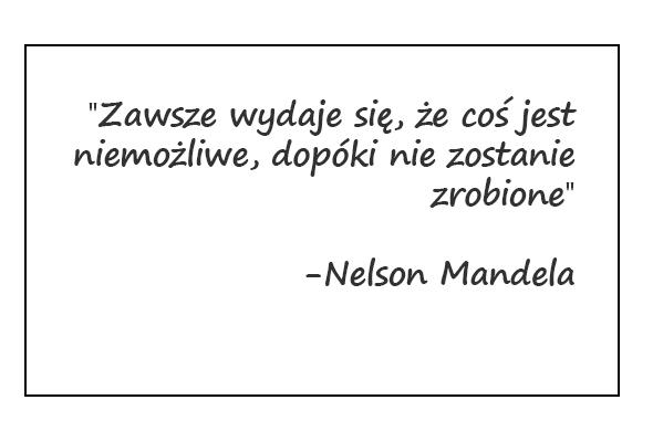 Cytat Nelson Mandela